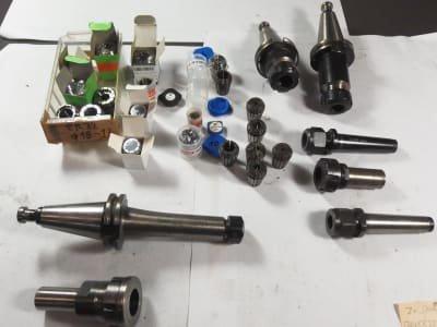 HOLEX Werkzeug 7 x collet holders, 20 x collets