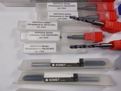 Werkzeug 60 pcs. Of solid carbide drills, internally cooled