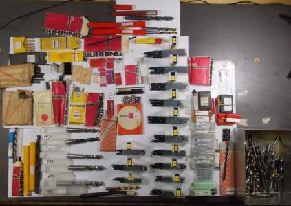 Werkzeug Lot of 400+ twist drills, new, HSS / HSSE