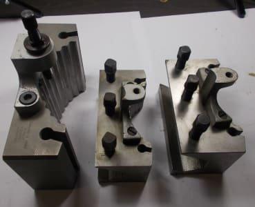 KENNAMETAL Werkzeug 3 x Multifix quick-change swivel holder