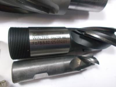 WALTER Werkzeug 40+ HM / VHM end mills D = 16 to 50mm