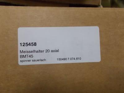 SPINNER Werkzeug BMT45 machine accessories lathe (e.g. TC600)