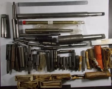 EHRLICH-TOOLS Werkzeug 50 pcs. Reduction sleeves MK1 to MK5 and others