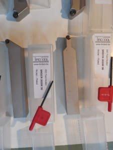 Werkzeug 11 turning holders 20x20 / 25x25, 120+ suitable inserts