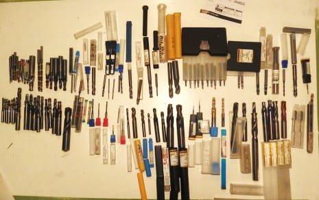 SECO Werkzeug 100 pcs. Solid carbide drill / solid carbide step drill