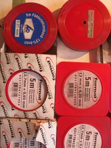 FORMAT Messvorrichtung Feeler gauge tape / foil tape and scissors