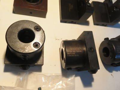 ISCAR Werkzeug Holders + cutting inserts HSK 40 / HSK 50