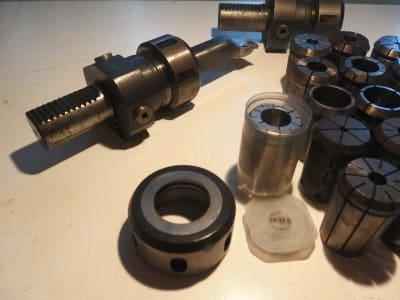 ESA Werkzeug 3x VDI collet holder / collets