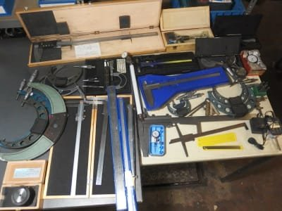 Messvorrichtung approx. 40x measuring devices and gauges