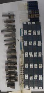 H.BILZ Werkzeug 300+ indexable inserts, new + 15x flat countersink inserts