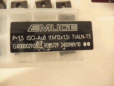 EMUGE Werkzeug 100+ solid carbide inserts for thread milling