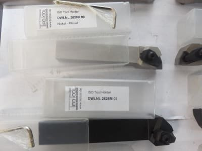 Werkzeug 10x insert lathe holder + boring bars 20 / 25mm, 100+ inserts