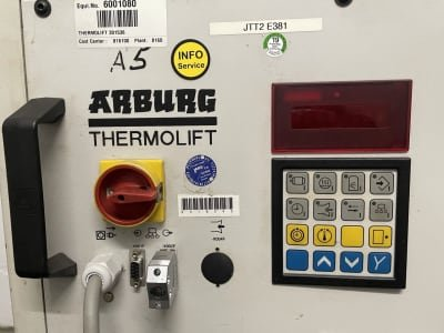 ARBURG Thermolift 100-2 100 liter dry air dryer granulate dryer