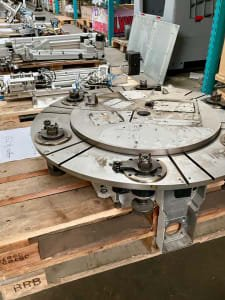 WEISS TC 320T Rotary indexing table