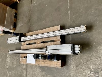BAHR ELFZ 80S 2x positioning system toothed belt axis