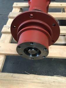 Lot (6 pieces) angular gear