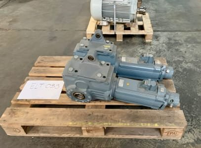 SEW EURODRIVE KVZ77 CM90L/BR/HR/TF/RH1L/SB50 2 pieces of synchronous servomotors