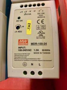 MEAN WELL MDR-100-24 30x DIN rail power pack 24 V / DC