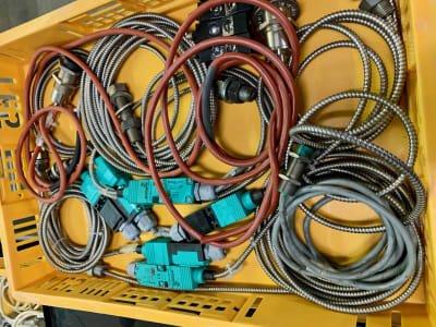 Lot of inductive sensors