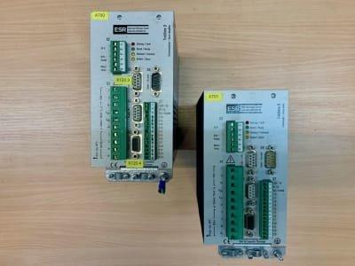 ESR TrioDrive D B1-R1-A1-F5 2x ESR AC servo controllers