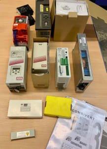 9x frequency converter, EMC module