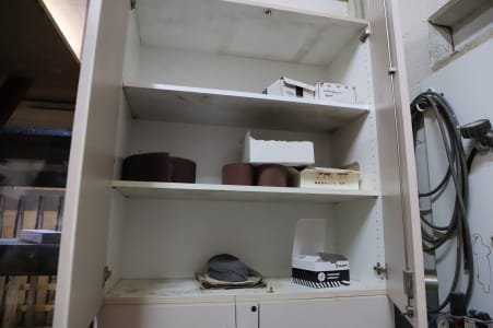 Wood cabinet without content