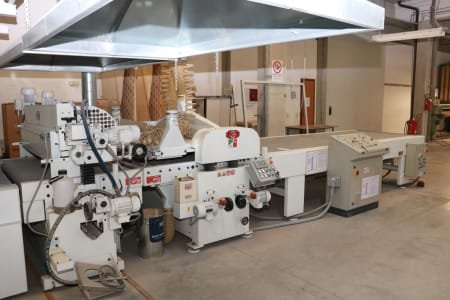TOMANIN Brushing and coating line