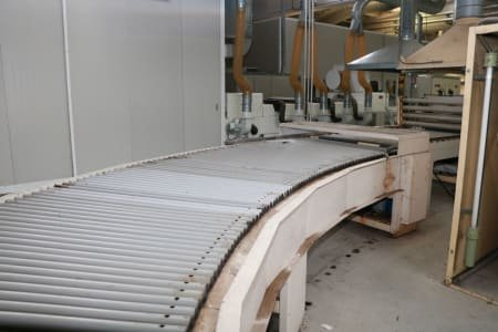 TOMANIN Conveyor system with rollers