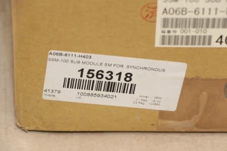 FANUC A06B-6111-H403 Module