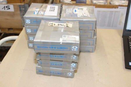 SNFA EX 85 7C3 T/EX 80 7C1 DT100 Lot of Bearings (x12)