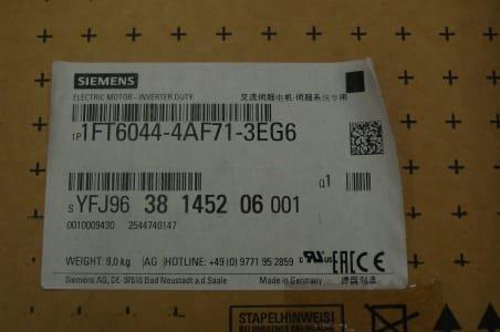 SIEMENS 1FT 6044-4AF71-3EG6 Motor (x4)