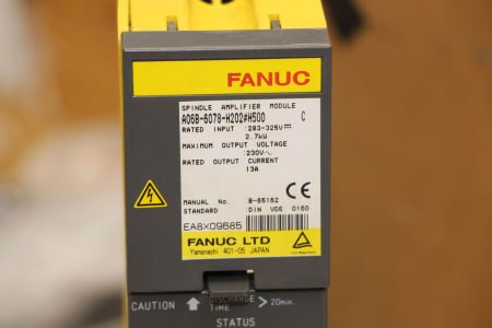 FANUC A06B-6078-H202#H500 Servo Amplifier Unit