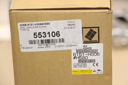 FANUC A06B-6151-H006/H580 Module