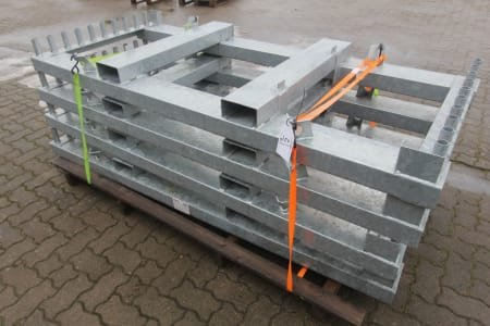 MÜBA Lot of Storage- and Transport Racks