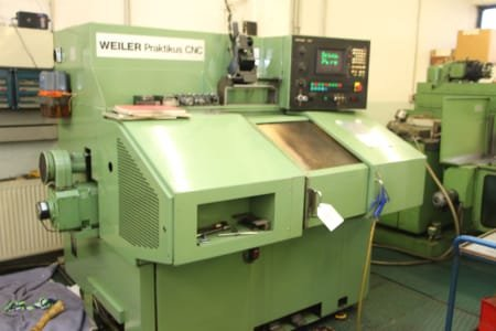 WEILER PRAKTIKUS CNC Production Lathe