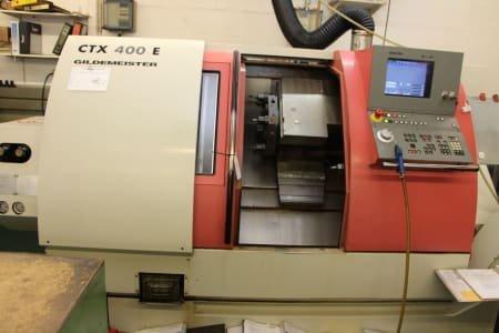 GILDEMEISTER CTX 400 E CNC Lathe