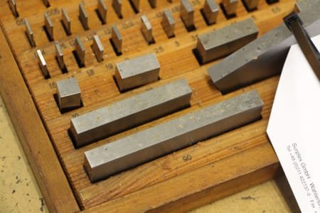 Gauge Block Box