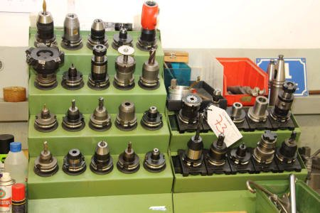 Lot SK 40 Tool Holders