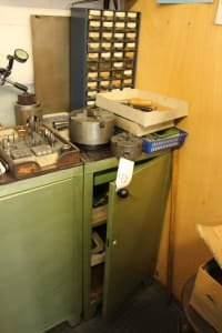 Workshop Cupboard with Contents