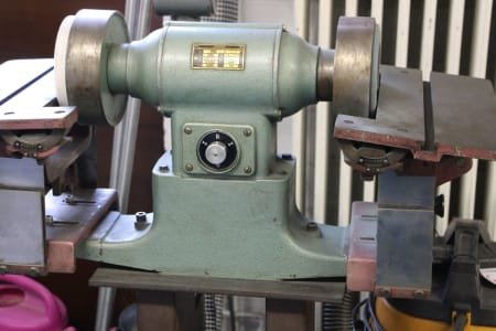 GREIF DHL 1-0 Double-Wheeled Bench Grinder