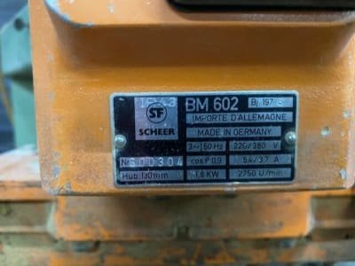 Taladro múltiple SCHEER BM 602