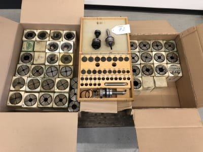 185 E Lot of Collets