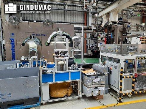 Máquina de moldeo por inyección Battenfeld HM2000/19000
