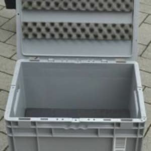 144 SSI SCHÄFER Storage Container with lid, approx. 400 x 300 x 270 mm