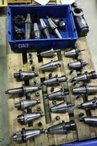 Lot of SK 50 Tool Holders
