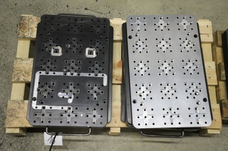 Lot of Electrode Clamping Plates