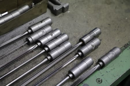Lot of Deep-Hole Drilling Tools