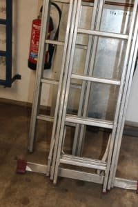 Lot Ladders, 2 Pieces
