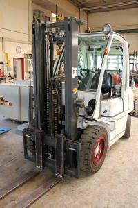 NISSAN LPG Forklift