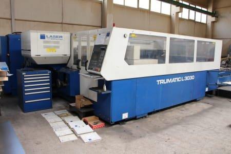 TRUMPF L 3030 Laser Cutting Machine